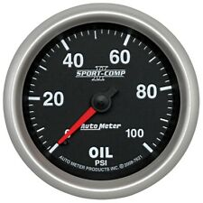 AutoMeter 7621 Sport-Comp II Mechanical Oil Pressure Gauge