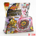 Beyblade Sets Fusion Metal Fight Master 4D Tops Rapidity Launcher Grip Kids Toys