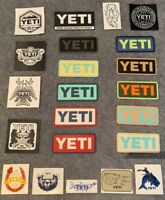 Authentic YETI Decal / Stickers - Your Choice (25 Choices)