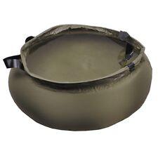 Faltschüssel Wasscherschüssel Schüssel Beutel Eimer faltbar oliv gummi 10 Liter