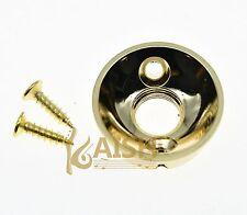 """Gold Guitar Jack 1/4""""(6.35mm) Electrosocket Jack Plate for Tele Telecaster"""