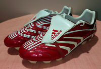 2006 ADIDAS PREDATOR ABSOLUTE TRX RED FOOTBALL BOOTS SOCCER CLEATS US 9.5 UK 9