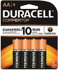 96x Duracell Coppertop AA Batteries Coppertop USA Alkaline Carded, 24pks x AA4