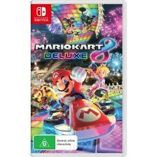 Mario Kart 8 Deluxe Nintendo Switch Game Brand New