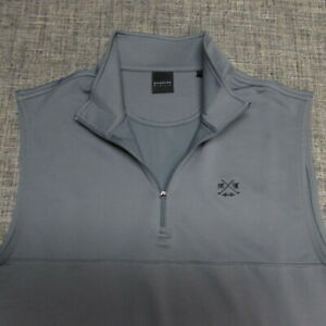 DUNNING STRETCH POLY SPANDEX GOLF VEST--L--SAN FRANCISCO--EXCEPTIONAL QUALITY!!!