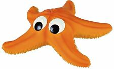 Latex Starfish Dog Toy with Sound & Fleece Filling 23cm