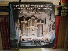 Mozart & Haydn Wiederaufbau Abgebranten Klosters Benwill Oskar Bader LP NM CV EX