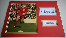 Tommy Smith SIGNED autograph 16x12 photo display Liverpool Football AFTAL COA