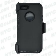 For Iphone 5/5S/SE Defender Case Cover With Screen Protector&Belt Clip BLACK