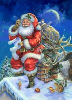 Chart Needlework DIY - Counted Cross Stitch Patterns - Christmas List