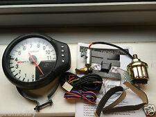 """Apexi style DECS 5"""" 120mm 3 IN 1 oil Temperature Pressure Rev Gauge Tachometer"""