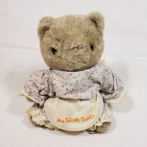 Vintage Eden Toys Plush Mrs Tabitha Twitchit Stuffed Animal Cat Beatrix Potter