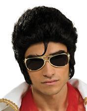 Elvis Presley Costume Accessory, Mens Deluxe Wig