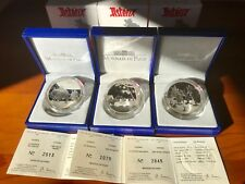 FRANCE 2007  3 X 1,5 EURO ASTERIX Argent SILBER PP /3000 Lot sold out set