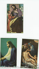 Catholic Holy Bible Prayer Cards  Lot Of 3 Beautiful Prayer Cards  Made in USA