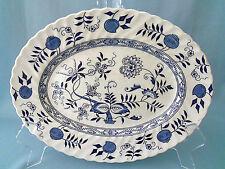 Wood & Sons Old Vienna platter ironstone Blue Onion