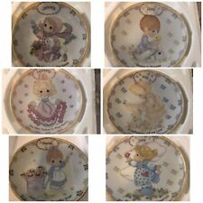 Precious Moments Bradford Exchange Calendar Plates of 12 & Monthly Tiles Only