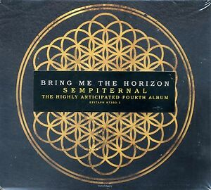 """Bring Me The Horizon """"Sempiternal"""" Exclusive Limited Edition Poster CD Brand New"""