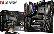MSI MEG X570 ACE Motherboard ATX, AM4, DDR4, Dual LAN and 802.11AX WIFI, USB 3.2