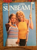 Womens knitting patterns.jumpers.tops.size 32-38 bust.4 ply.Sunbeam patterns
