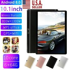 Ten Core 10.1 Inch HD Game Tablet Computer PC GPS Wifi Dual Camera Android 8.0