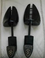 Mens Pair of Black Plastic Shoe Trees/Stretchers Size L