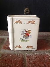 "Vintage 1936 Royal Doulton Tableware Ltd Bunnykins Ceramic Bank4.5x3.5"" Mint!"