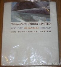 Vintage 1975 The New 20th Century Limited Train Sealed Medium Shirt