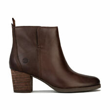 Womens Timberland Eleonor Street Ankle Boots In Potting Soil