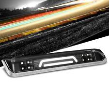 Black Housing Clear Lens 3D LED Rear Cargo+3RD Third Brake Light For 04-08 Lobo