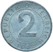1962 / 2 GROSCHEN / AUSTRIA / OSTERREICH / COLLECTIBLE COIN   #WT29997