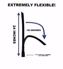 "Long Reach Dryer Vent Vacuum Hose Crevice Flex Tool 1.25"" x 24"" - NEW"