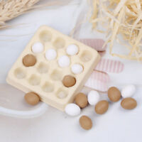 1:12 Dollhouse Miniature Egg Carton With 16 Pcs Eggs Dollhouses FE