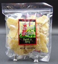 Trader Joe's Crystallized Candied Ginger Dried Fruit 8 oz Bag 🌺