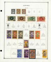 Dahomey Popular 1900 to 1970s Clean Mint & Used Stamp Collection