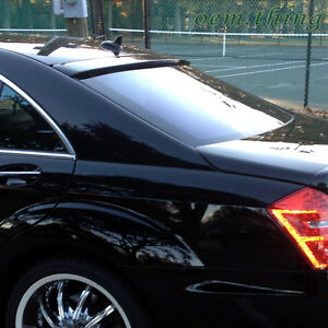 2013 S63 S400 Fit FOR Mercedes BENZ S-Class W221 L Type Roof Spoiler Unpaint