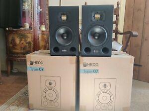 HEDD Type 07 Active Studio Monitors PAIR | Adam Genelec KRK Yamaha Speakers
