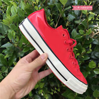 BRAND NEW CONVERSE CHUCK 70 OX LOW TOP MEN'S RED LEATHER CASUAL SNEAKER 162442C