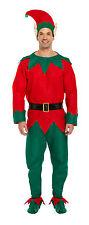 Adulti 5 Pezzi Costume Elfo Natale Natale Fancy Dress Party Taglia Unica