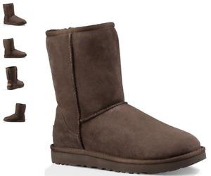 UGG Classic Short II Chocolate Boot Women's US sizes 5-11/36-42 NEW!!!