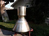 Apollo Lunar Descent Rocket Engine: titanium chamber & bell; TRW