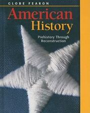 GLOBE FEARON AMERICAN HISTORY VOLUME 1 2003