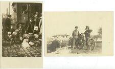 c1916 Belgium or Germany Real Photos - railroad scene, etc