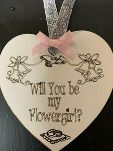 Will You be my Flower Girl  Wedding Gift Bridesmaid