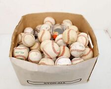 Baseball Lot of 78 Used Baseballs-Practice Catch Batting
