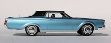 1:43 Automodello 1970-1971 Lincoln Continental Mark III blue w/ black top 43L03T