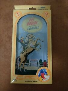 Schylling ROY ROGERS and TRIGGER Retro Western PINBALL GAME  NEW