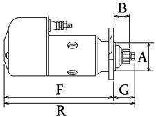 Starter Motor Fits Massey Fergusion TE20 TE-20 TEA20,TED20,TEH20 matching number