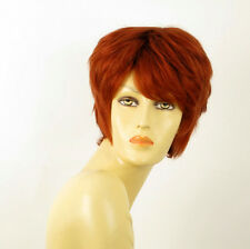 wig for women 100% natural hair copper intense ref  KRYSTIE 130 PERUK
