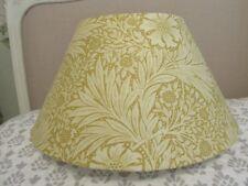 Handmade Lampshade Coolie 40cm William Morris Marigold Cowslip  fabric